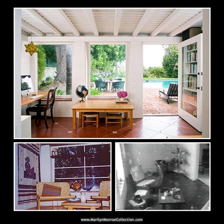 Marilyn Monroe Home 215 best marilyn's brentwood home images on pinterest | marilyn