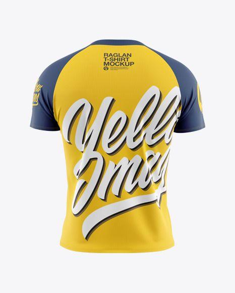 Download Men S Raglan T Shirt Mockup In Apparel Mockups On Yellow Images Object Mockups Shirt Mockup Design Mockup Free Tshirt Mockup