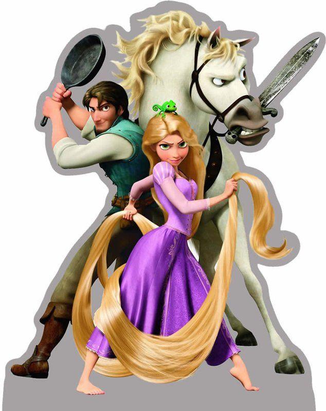 Totens - Displays - Enrolados - Rapunzel - Festa & Oferta | Painéis para decoração de festa