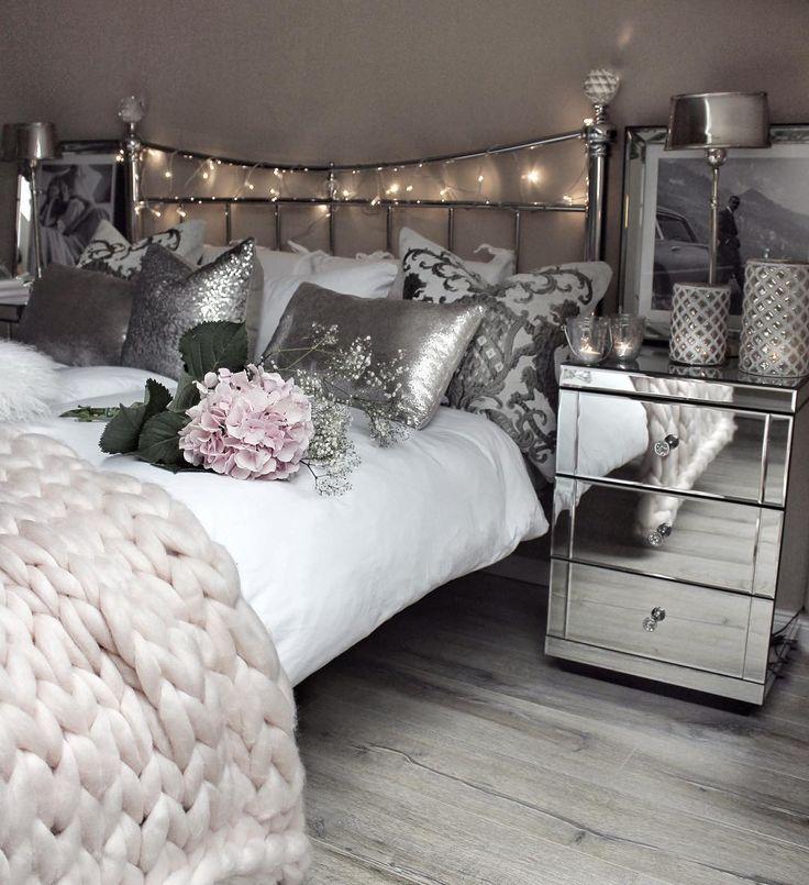 Best 25+ Silver Bedroom Ideas On Pinterest