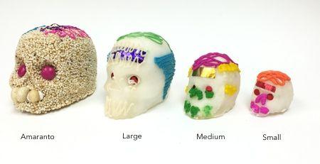 Calaveras de Azucar - Sugar Candy Skulls Dia de Muertos - Small