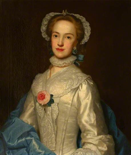 Lady Margaret Conyers painted by George Knapton