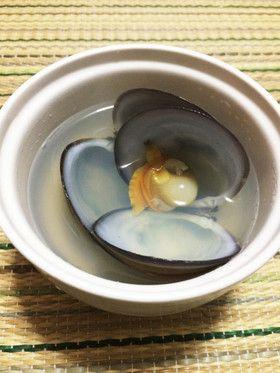 簡単 濃厚沖シジミのすまし汁