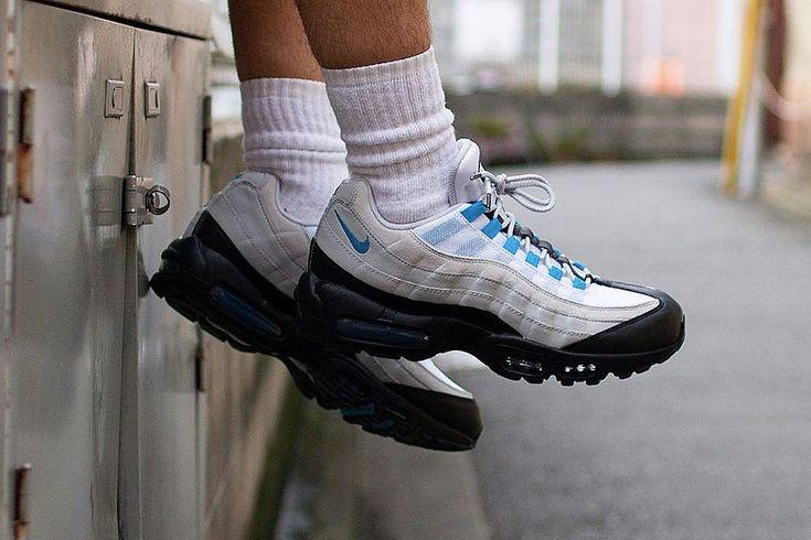 Nike Air Max 95 推出全新「Laser Blue」配色 | Nike air max, Nike ...