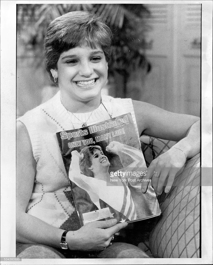 Mary Lou Retton. August 15, 1984. (Photo by David Bookstaver / (c) NYP Holdings, Inc. via Getty Images)