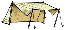 Convertible Wedge Tent   TE-84, Jas. Townsend and Son, Inc. $355