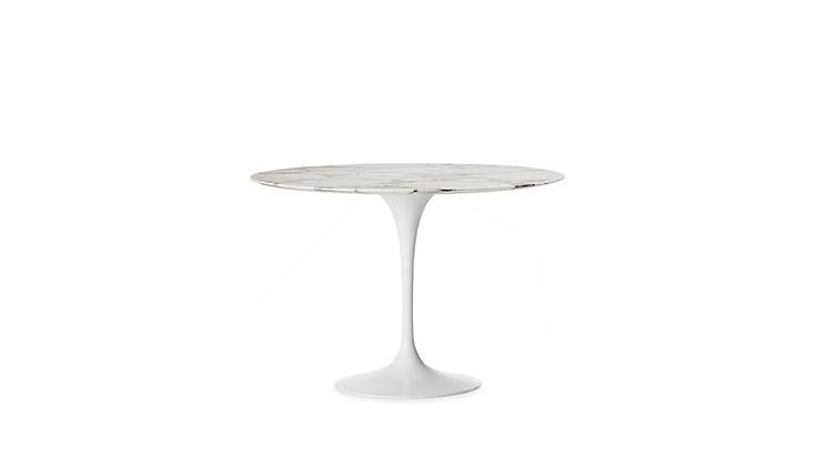 Saarinen Round Dining Table with White Base  