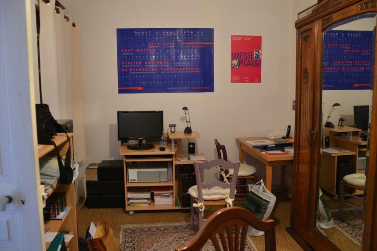 ¡El escritorio! (Foto MTRD)