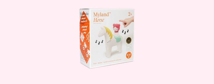 White Kid O Myland Horse