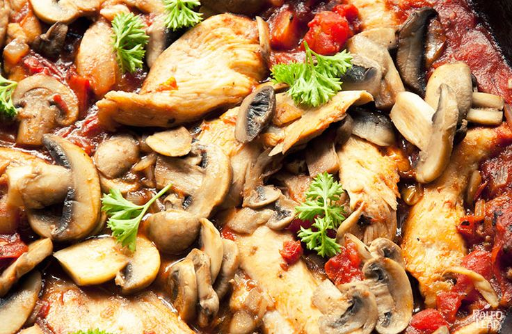 A one-pan dinner recipe with a simple, savory Italian seasoning.