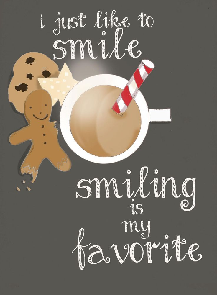 Elf quote | I just like to smile. Smiling is my favourite #ChristmasStuffs