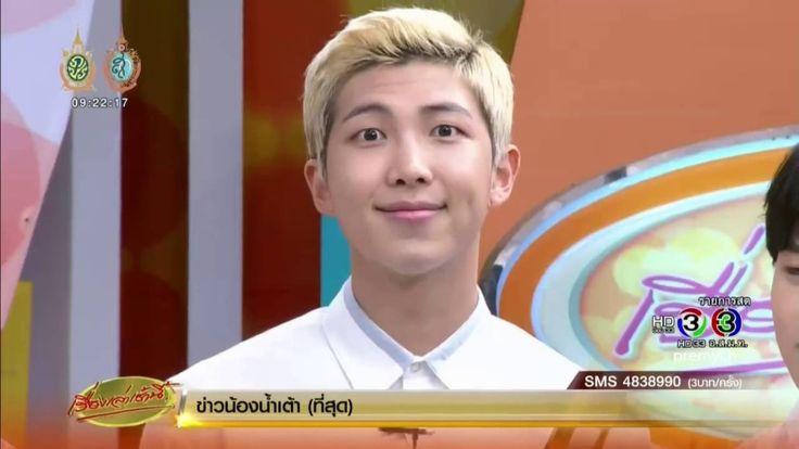 [ENGSUB] BTS at morning news in Thailand