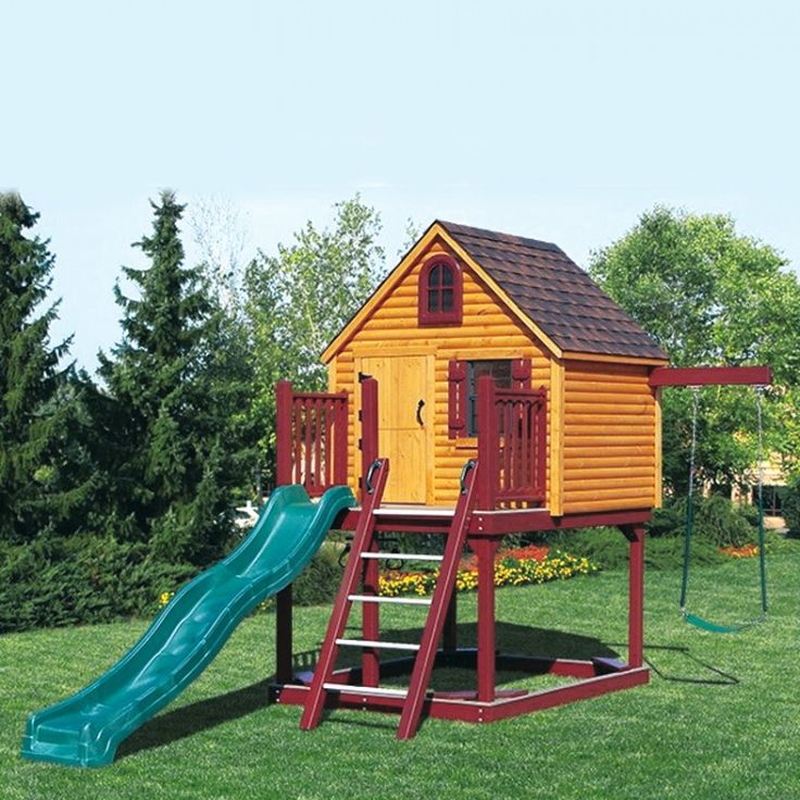 Amish Built Playhouses : Images about playground fun on pinterest vinyls