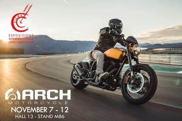 Arch Motorcycles will put up stands at this year's EICMA With what started out as a custom weekend project for Hollywood's Keanu Reeves, Arch Motorcycles has come a long way ever since it set up shop back in 2007. Joined by a self-taught engineer Gard Hollinger, the company started making production models ...