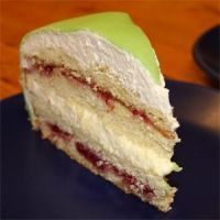 Swedish Princess cake - my Swedish roommate swears by this cake, and I am inclined to believe him!