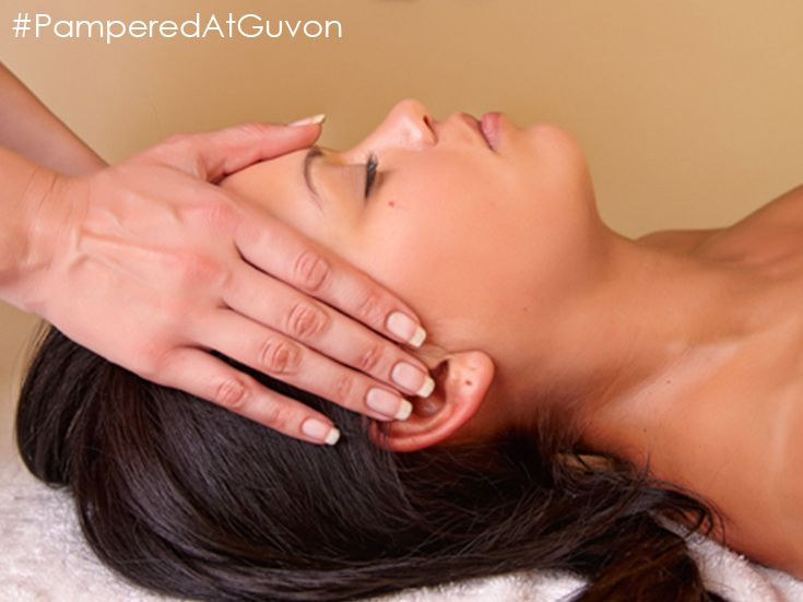 Facial and scalp massage #PamperedAtGuvon  #atGuvon