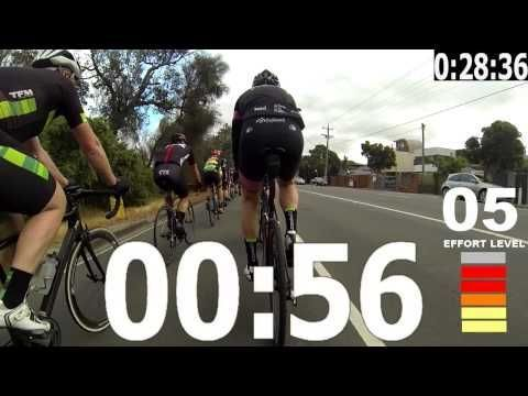 60 Minute Indoor Trainer Workout - YouTube #bikingworkoutcycling