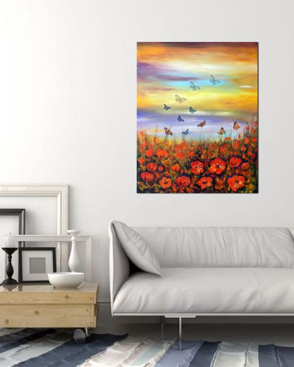 Buy Landscape of Spring, Acrylic painting by Areti Ampi on Artfinder. Discover thousands of other original paintings, prints, sculptures and photography from independent artists.