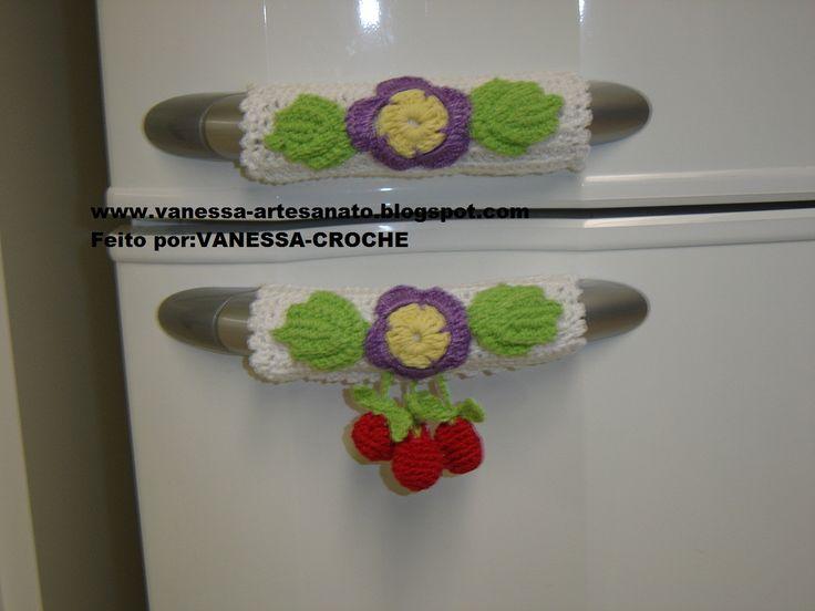 trabalhos de croche no de fogão - Pesquisa Google