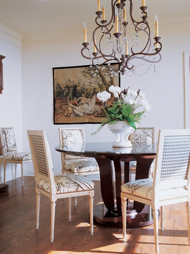 Traditional Dining Rooms From Charles Faudree On HGTV