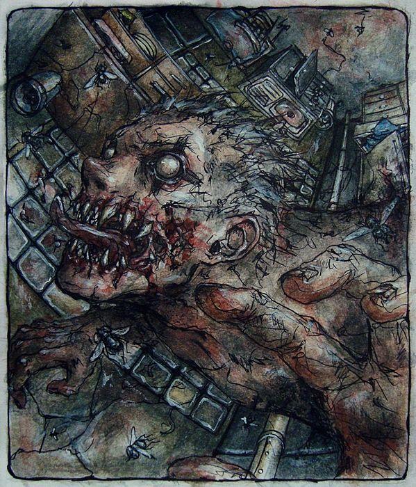 Dorohedoro - Cursed by DieWolfsseele.deviantart.com on @DeviantArt