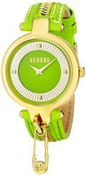 Versus by Versace Women's SOB050014 KEY BISCAYNE Analog Display Quartz Green Watch