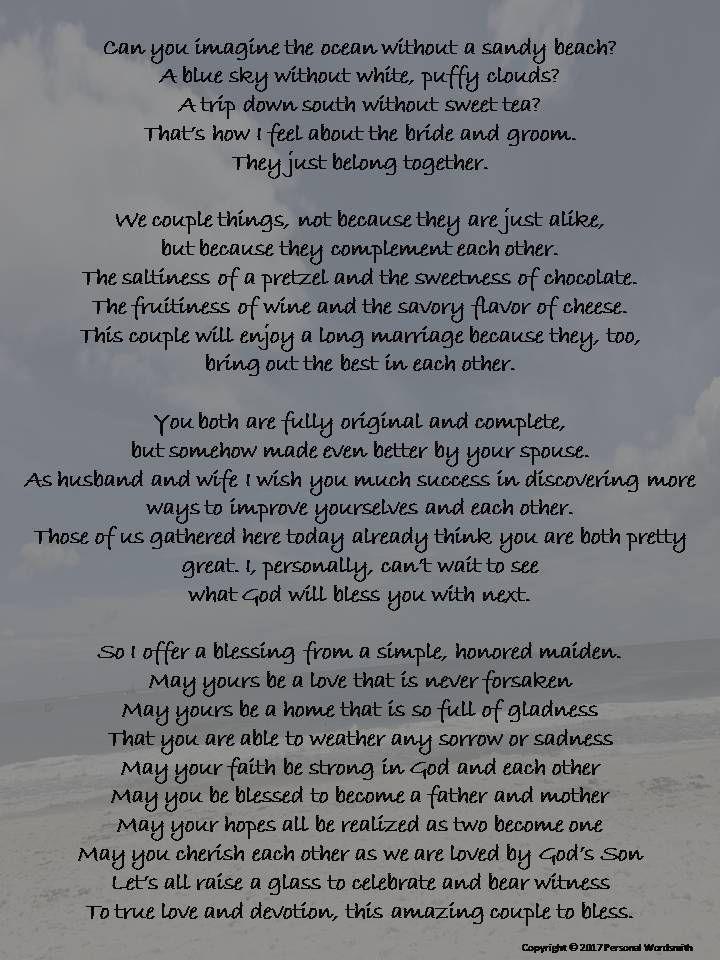 Wedding Toast Poems Quotes: Best 25+ Bridesmaid Poems Ideas On Pinterest