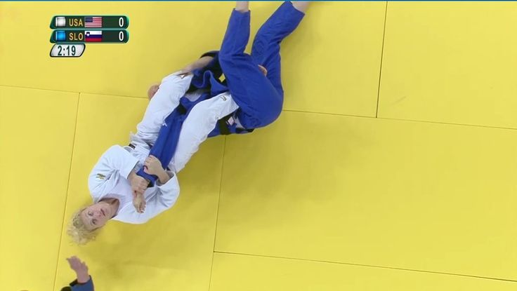U.S. Olympic Team Retweeted  USA Judo ‏@USAJudo  Aug 11 Kayla Harrison wins by ippon with submission by arm bar. She fights in the Finals! Watch live on NBC Sports Network!