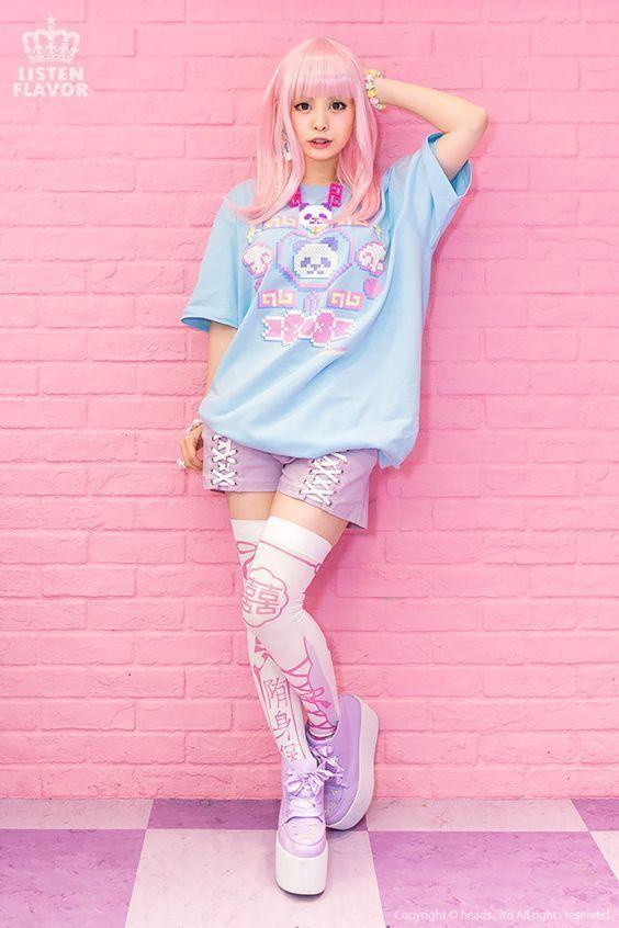 kawaii, pastel, lolita, fairy kei, pop kei, Harajuku, Japanese street fashion