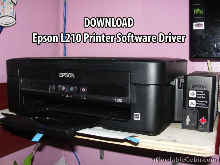 install software install software printer epson l210