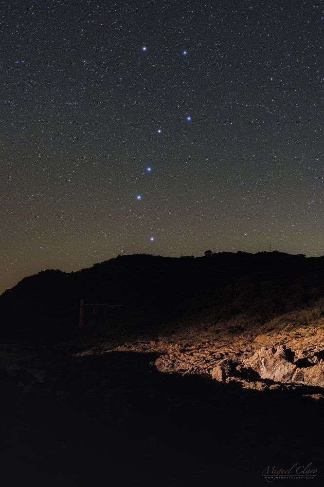 The Big Dipper Sparkles Over Dramatic Landscape In Stunning Night Sky Photo Night Sky Photos Night Scene Photo