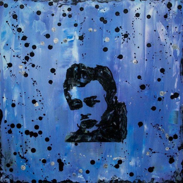 James Dean on canvas