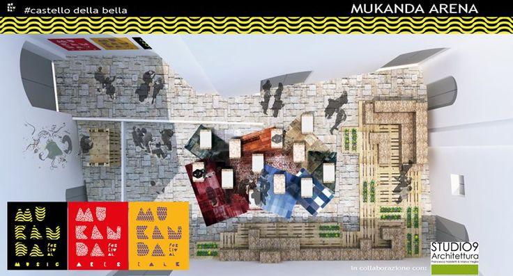 Arena Mukanda , Vico del Gargano, 2015 - Studio9 Architettura - Marco Veglia & Francesca Nobiletti.