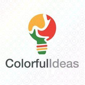 Exclusive Customizable Logo For Sale: Colorful Ideas | StockLogos.com