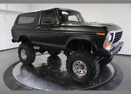 78 ford bronco. We had this truck when I was a kid.  Wasn't jacked as high though.