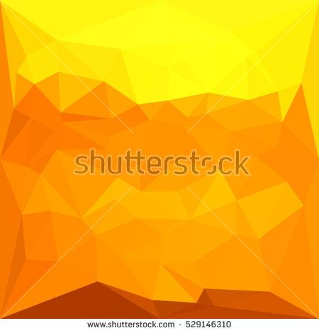Low polygon style illustration of a cyber yellow abstract geometric background. #abstractbackground #lowpolygon #illlustration