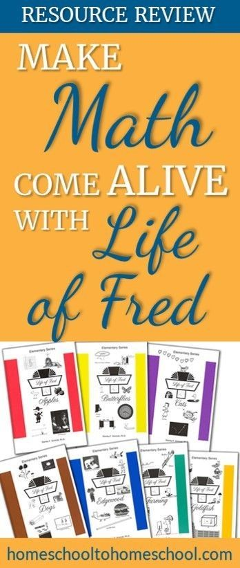 Check out this math curriculum review of Life of Fred. It's one of the favorit…