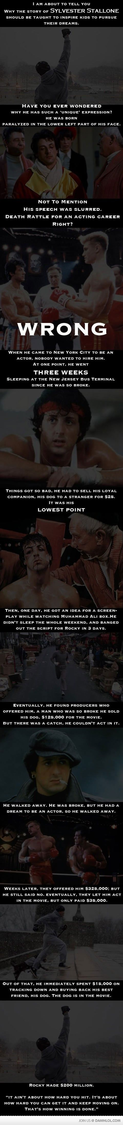 A Little Story About Sylvester Stallone