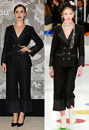 Runway to Real Life: Lily Collins in Chanel, Cate Blanchett in Proenza Schouler and More (Forum Buzz)
