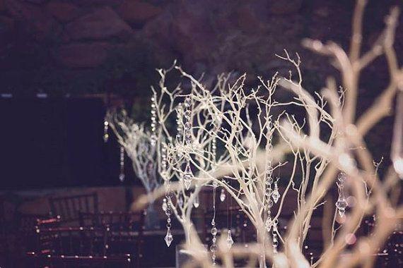 Manzanita Tree Wedding Centerpiece Pack of 10 by OurCraftyClosets