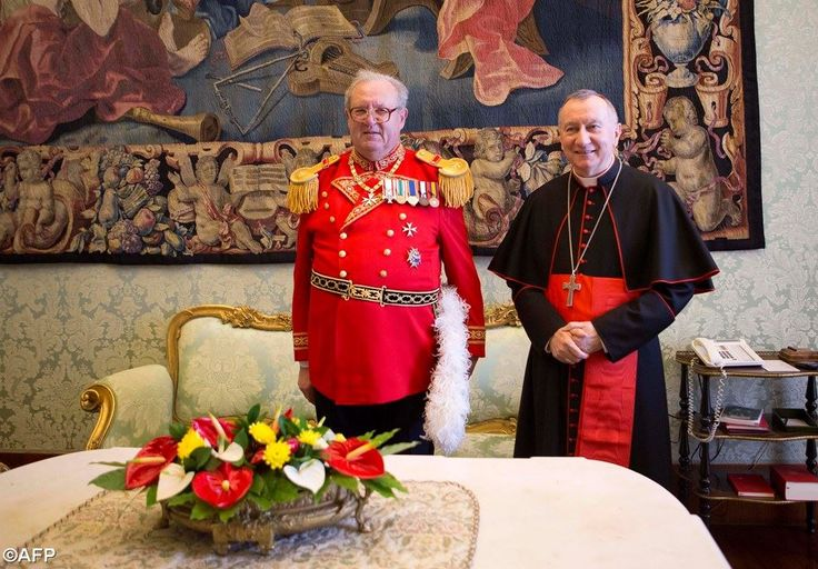 Card. Parolin on Thursday had a private meeting with Fra' Matthew Festing, Prince and Grand Master of the Sovereign Military Order of Malta.