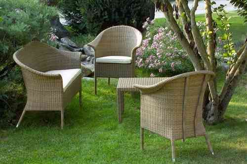 """Salotto per esterno in rattan sintetico alta qualità """"Leon"""" - MaisonOutlet.it Mobili da giardino alta qualità a prezzi scontati"""
