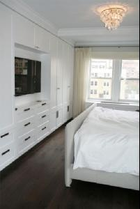 wall of built-in cabinets - cunningham