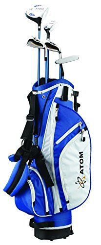 "ATOM Complete Junior Golf Set, Youth 54-63"" tall, Ages 10 - 13, Right-handed"
