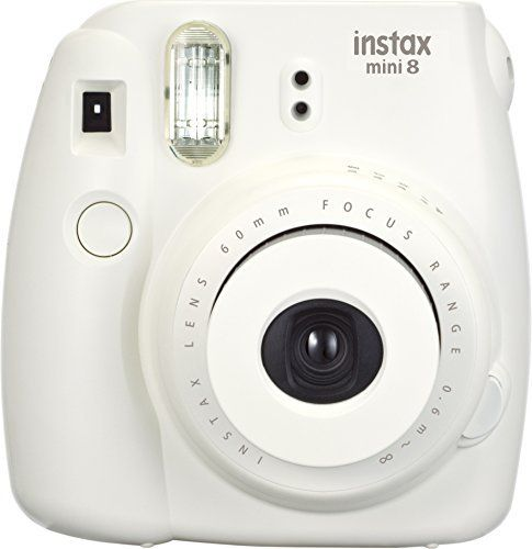Fujifilm Instax Mini 8 Instant Film Camera (White) This is rated as one of the most selling products online in Photo category in USA. Click below to see its Availability and Price in YOUR country.