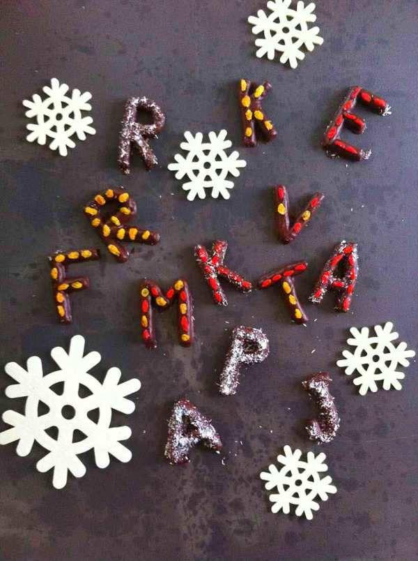Lettere di Cioccolato alle Spezie | Dolce Senza Zucchero