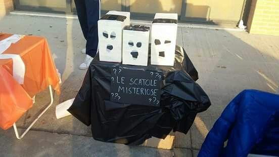 Festa di Halloween 2015 le scatole misteriose!