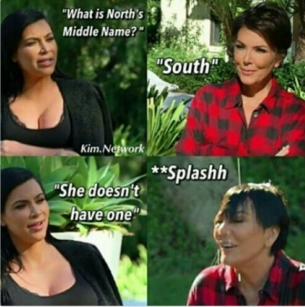 When Kris had absolutely no clue about her granddaughter's name. | 35 Iconic Kardashian Moments That Belong In A Damn Textbook
