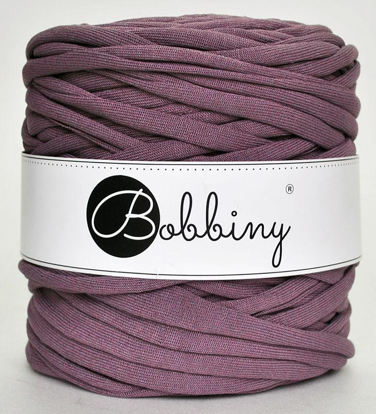 Lavender Bobbiny yarn