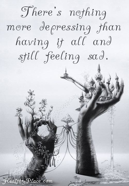 Feeling Sad Quotes: Depression Resources - Depression Info & Support